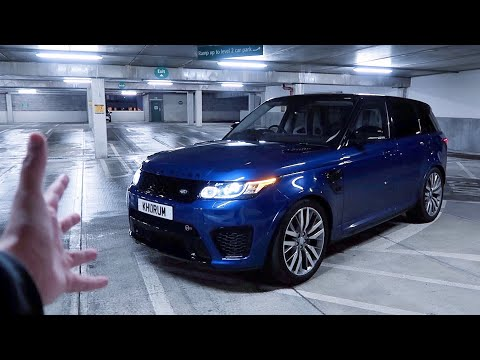 This Range Rover SVR is one of the CRAZIEST SUV's on Sale!