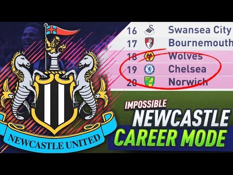 CHELSEA ARE GETTING RELEGATED!?! FIFA 18 NEWCASTLE UNITED CAREER MODE #13