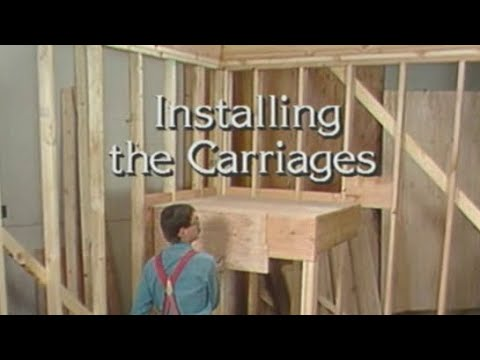 How to install stair carriage