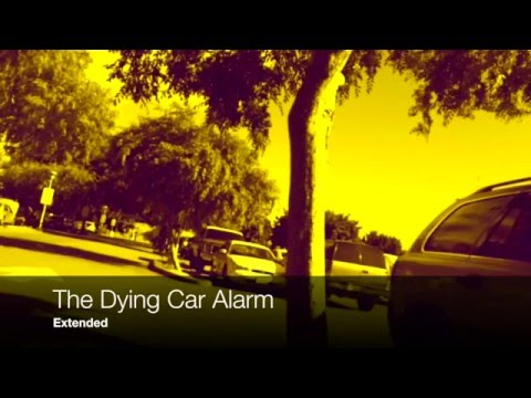 Dying car alarm drops a beat (Extended Version)