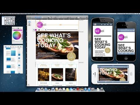 Mail Designer Pro applicazione professionale per creare Newsletter su Mac - AVRMagazine.com