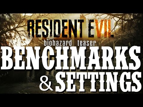 Resident Evil 7 PC Performance Benchmark Review  | GTX 1060/1050 RX 480/470/460