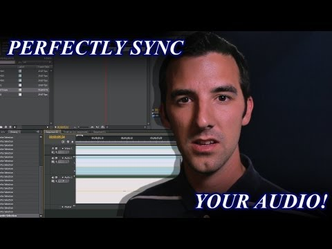 PERFECTLY Sync Audio in Premiere Pro