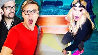 The Game Master is not Real!  Searching for New Clues inside Matt and Rebecca's Cabin!