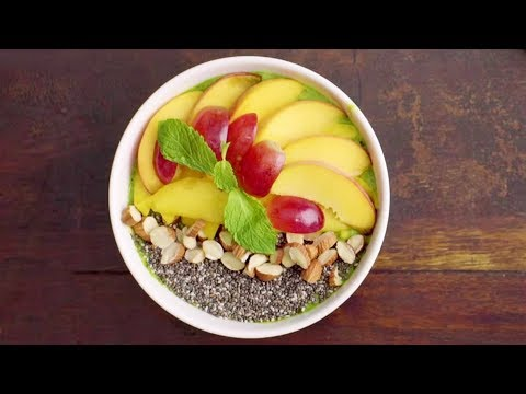 Mixed Fruits Smoothie - Breakfast Bowl - Healthy & Quick Recipes