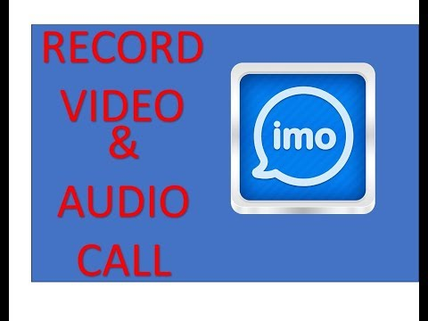 how to record video call..IMO,VIBER,SKYPE , EASY WAY