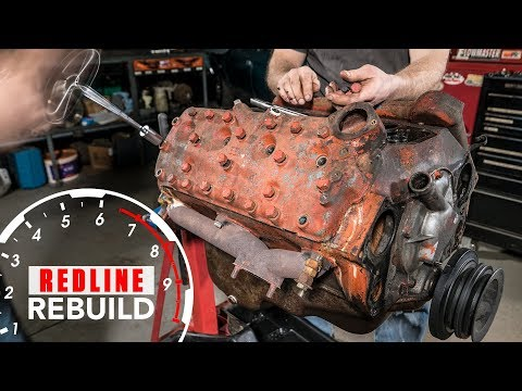 Ford Flathead V8 Engine Rebuild Time-Lapse | Redline Rebuild - S1E2