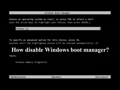 Windows Boot Manager | How fix easy Windows boot manager? | Windows 7 | Windows 8 | Windows 10 |