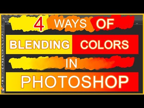 4 Ways Of Blending Colors In Photoshop   TUTORIAL   How To Blend Colors