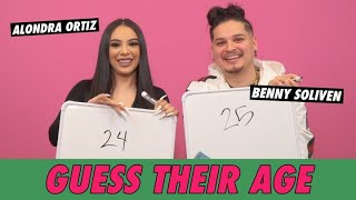 Benny Soliven vs. Alondra Ortiz - Guess Their Age