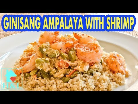 Ginisang ampalaya with Egg and Shrimp Recipe || Health and Lifestyle