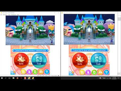 how to trade, battle Pokemon with Citra emulator