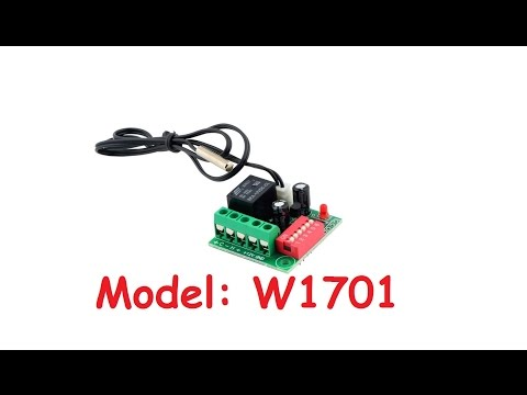 Heat Cool Temp Thermostat Digital Temperature Control Switch Relay (W1701)