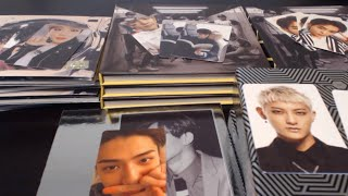 Kpop EXO Photocard Unboxing Sing For You X4 LMR X6 Exodus Overdose X2