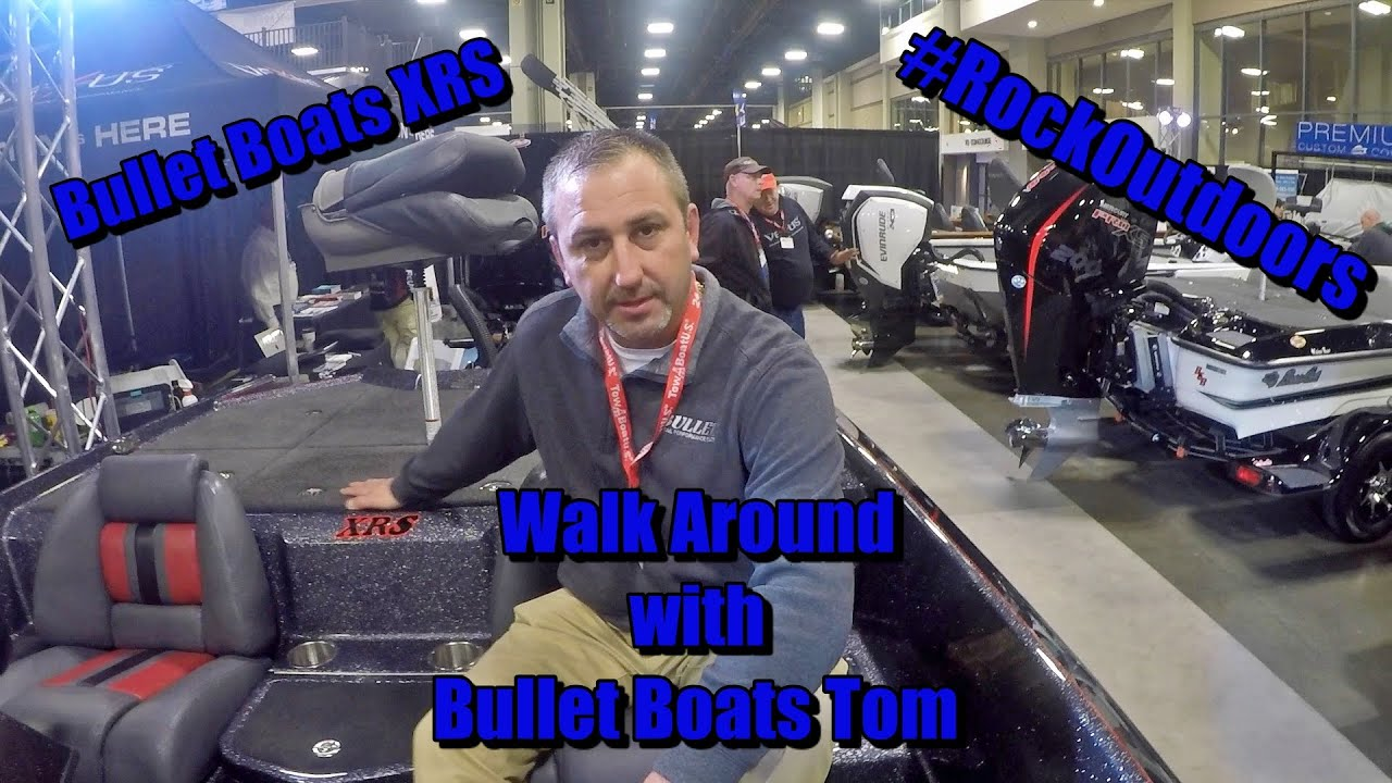 Bullet Boats XRS Walk Around with Tom from Bullet Boats
