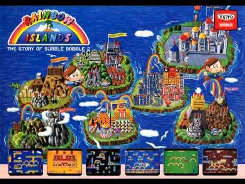 Rainbow Islands (Taito 1987) - In-game music