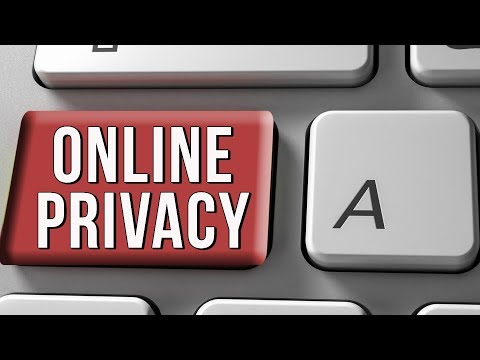 Protect your privacy while on the web