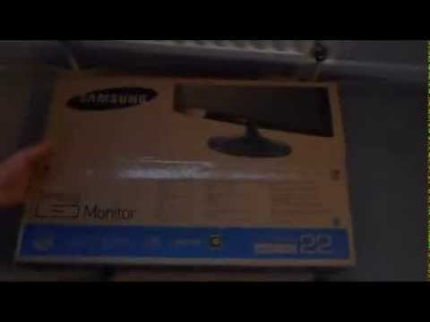 Samsung S22C300H (S) 21.5 inch LED monitor - Unboxing and review