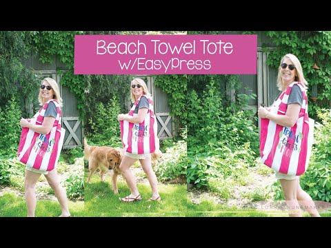 Beach Towel Tote Bag!