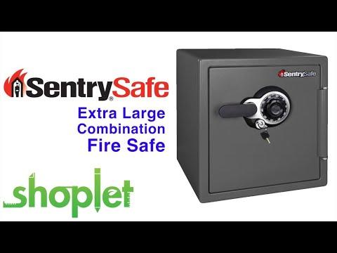 SentrySafe Extra Large Combination Fire Safe