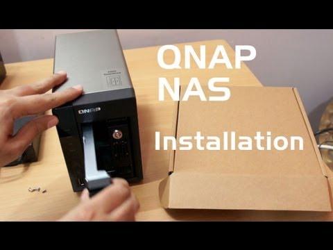 QNAP NAS initial installation & setup guide using TS-269 Pro