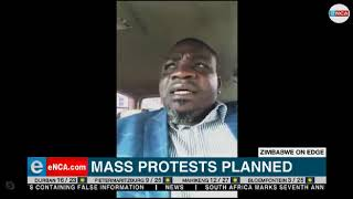 Mass protests planned in Zimbabwe