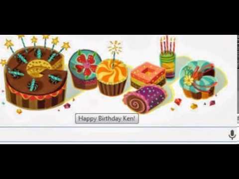 Even Google knows it's my Birthday!