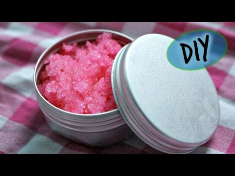DIY Lush Bubblegum Lip Scrub