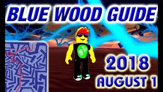 Roblox Lumber Tycoon 2 Blue Wood Maze Map