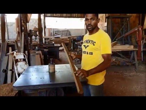 Tutorial: Como fazer uma espada de madeira profissional - aikido (How to make a bokken)