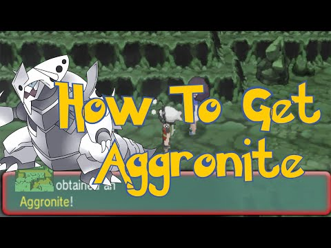 Pokemon Omega Ruby & Alpha Sapphire Tips : How To Get Aggronite Mega Stone