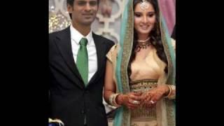 Sania Bhabi our Shohaib Bahi bohat bohat Mubarak hu..By Tahir Saeed--wedding song