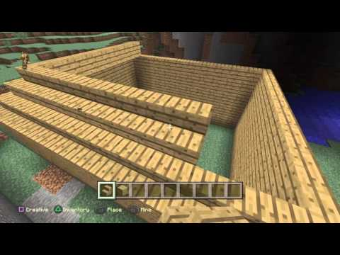 How To Build a Roof in Minecraft ep3