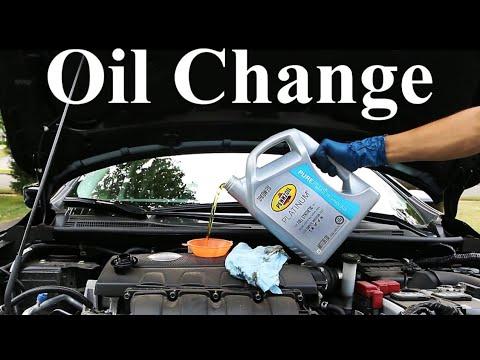 Hoe to change car engine oil in telugu