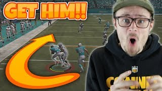 UP and DOWN the field in OVERTIME for this?? Madden 19