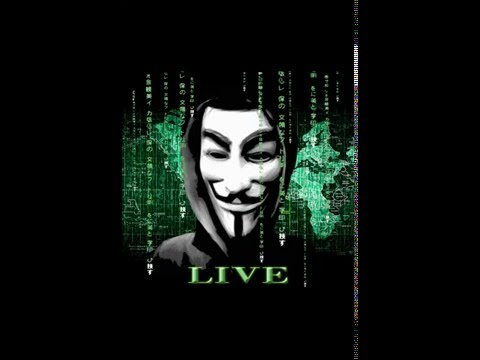 Anonymous Parallax Live Wallpaper