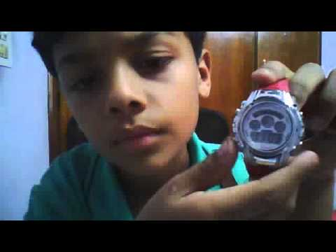 how to use a basic digital watch 3D