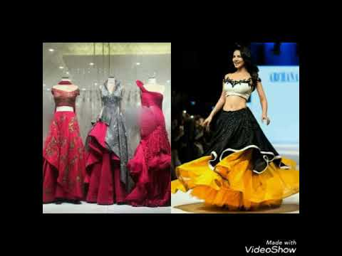Layered lehenga cum gown designs ideas for wedding,Engagement,Reception/New Dress Collection🎆