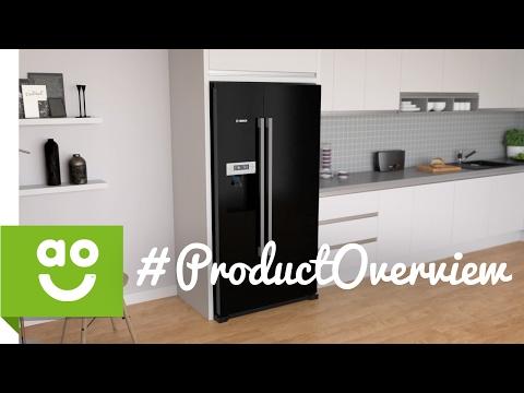 Bosch American Fridge Freezer KAD90VB20G Product Overview | ao.com