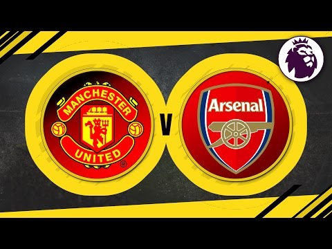 MATCH DAY LIVE 2016/17 - Manchester United v Arsenal // Premier League