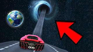 GTA 5: I FOUND A ROAD TO SPACE INSIDE LOS SANTOS WITH TECHNO GAMERZ😱