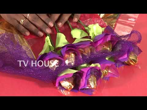 Easy to Make Chocolate Bouquet