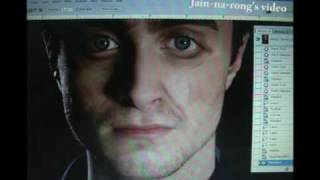 Making Daniel Radcliffe Look Older Photoshop Evolution
