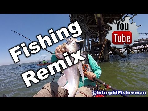 Fishing Fun Remix - Texas City Dike - Matagorda - Pierce Marsh - Bloopers - Texas City Refinery