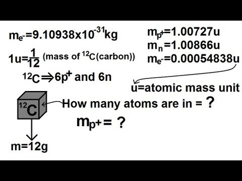 Physics - Nuclear Physics (1 of 22) Mass of Proton, Neutron, and Electron