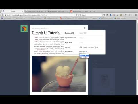 Tumblr New User Interface Tutorial | How Tumblr Works | Tumblr Update 2015