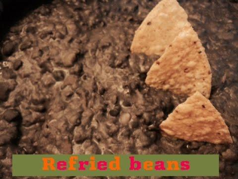 Vegan Fried Beans - Frijoles Refritos Veganos