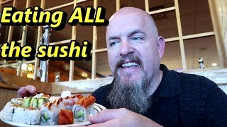 CUTOFF at All You Can Eat (AYCE) Sushi Restaurant - NO SUSHI FOR YOU!!!