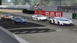 Ford GT vs GT2 RS vs Aventador SV vs 720S vs Huracan