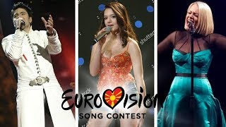 Eurovision 1998-2019: MACEDONIA (All Entries)